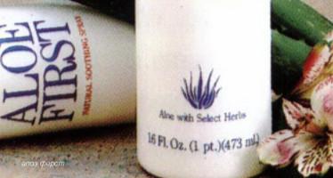 Вылечить раны и ожоги кожи за 5 дней помогает Aloe First