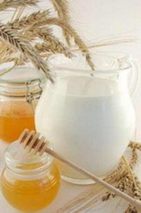 мед молоко для кожи