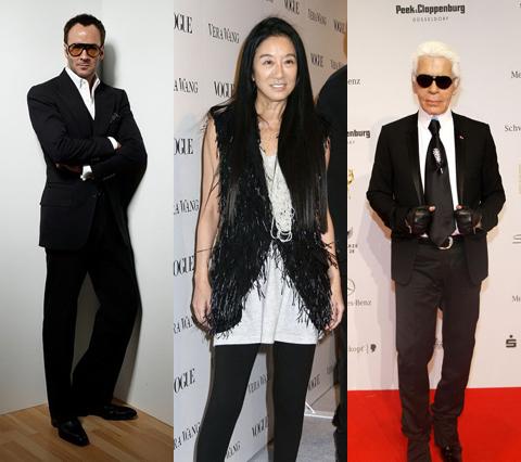 Знаменитые дизайнеры в черном