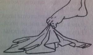захват платочка