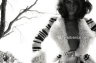 Леди — контраст белого и черного