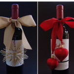 Вино - упаковка на Новый Год