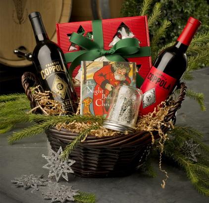упаковка на Новый Год_вино