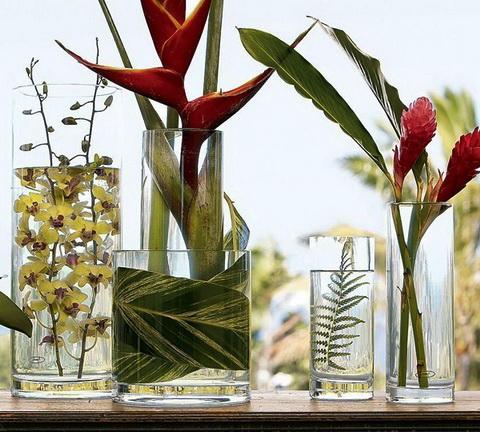Флористика - композиция с орхидеей
