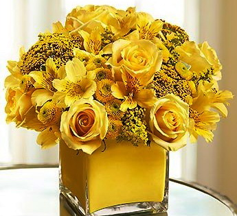 Флористика - композиция с розами
