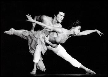 Майя Плисецкая в танце