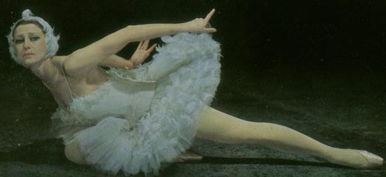Майя Плисецкая_Умирающий Лебедь