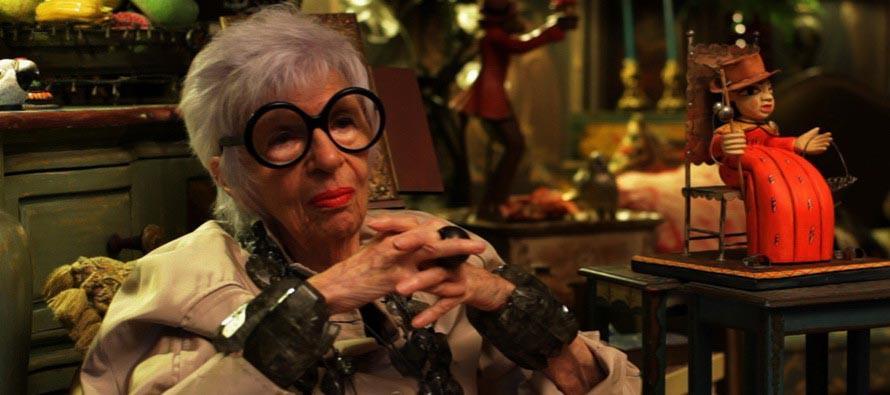 Айрис Апфель — супермодель в 90 лет!