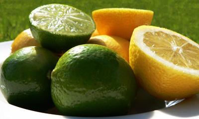 ванны для кожи с лимоном