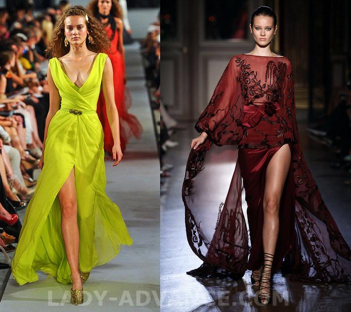 вечерние платья в стиле слинки