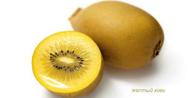 желтый киви