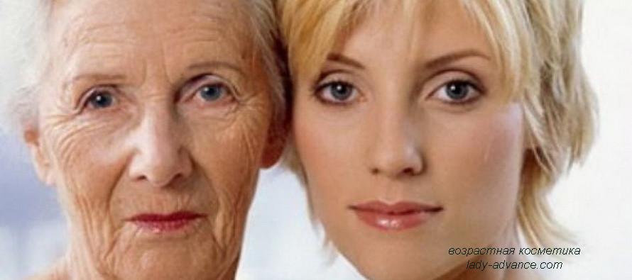 Домашняя возрастная косметика для кожи лица