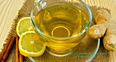 Имбирь с лимоном для похудения в осенне-зимний период