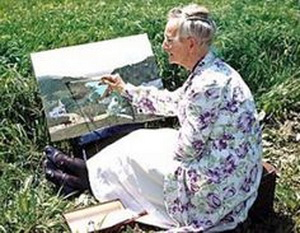 Художница бабушка Мозес