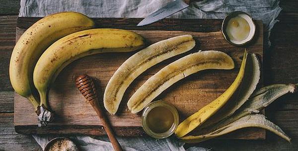 бананы и мед против старения кожи