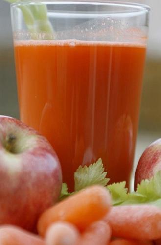 морковный сок с яблоками