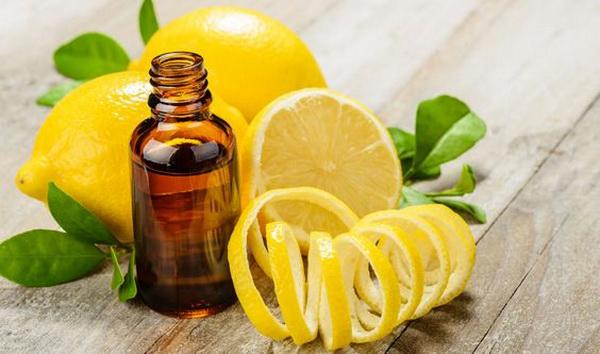 масло лимона для улучшения запаха волос