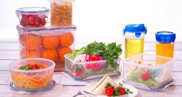 не хранить продукты в контейнерах
