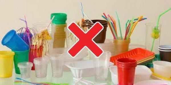 не использовать пластиковую посуду