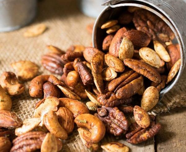 орехи для очистки сосудов