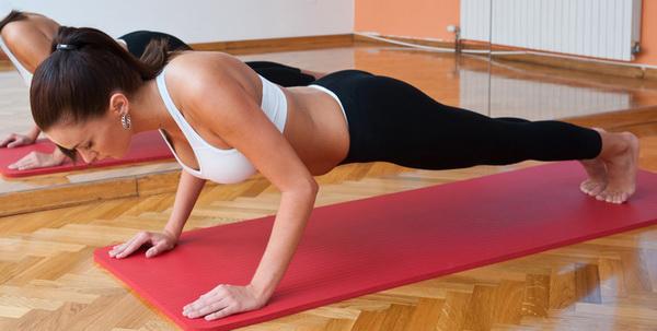 отжимания для повышения упругости груди