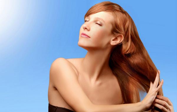 естественное высушивание волос
