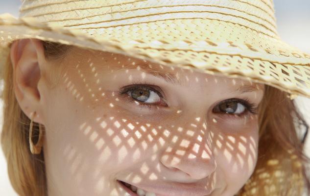 шляпа для защиты волос