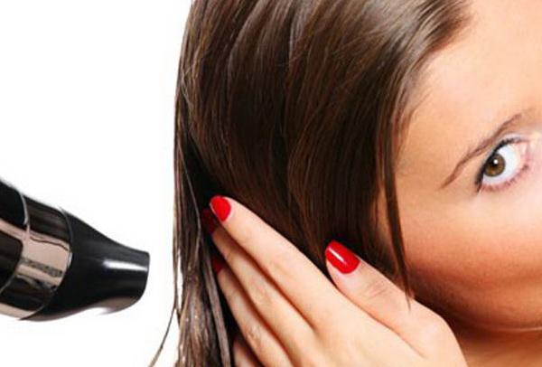 защита волос от фена
