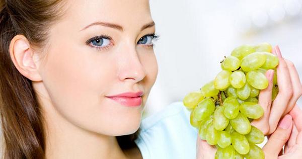 виноград для кожи лица