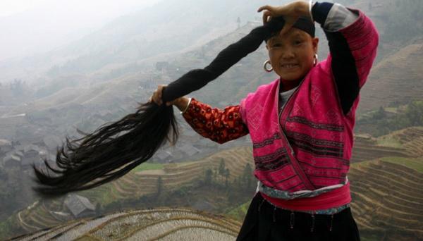 женщина племени Яо