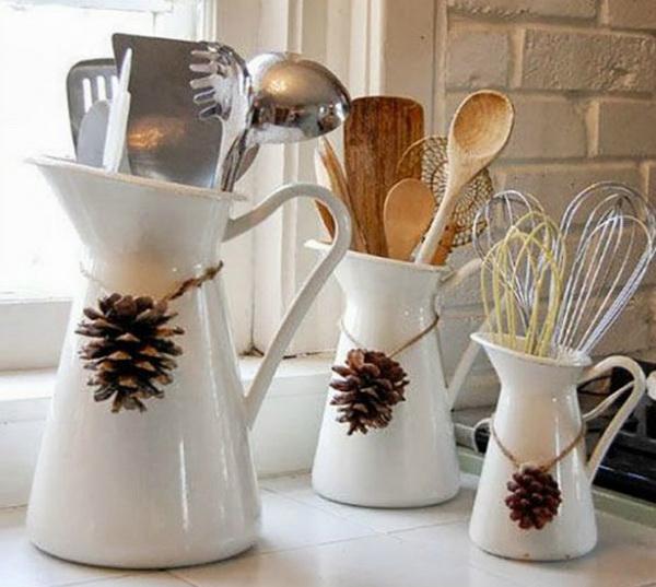 Украшение кухонной посуды