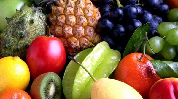 фрукты с йодом